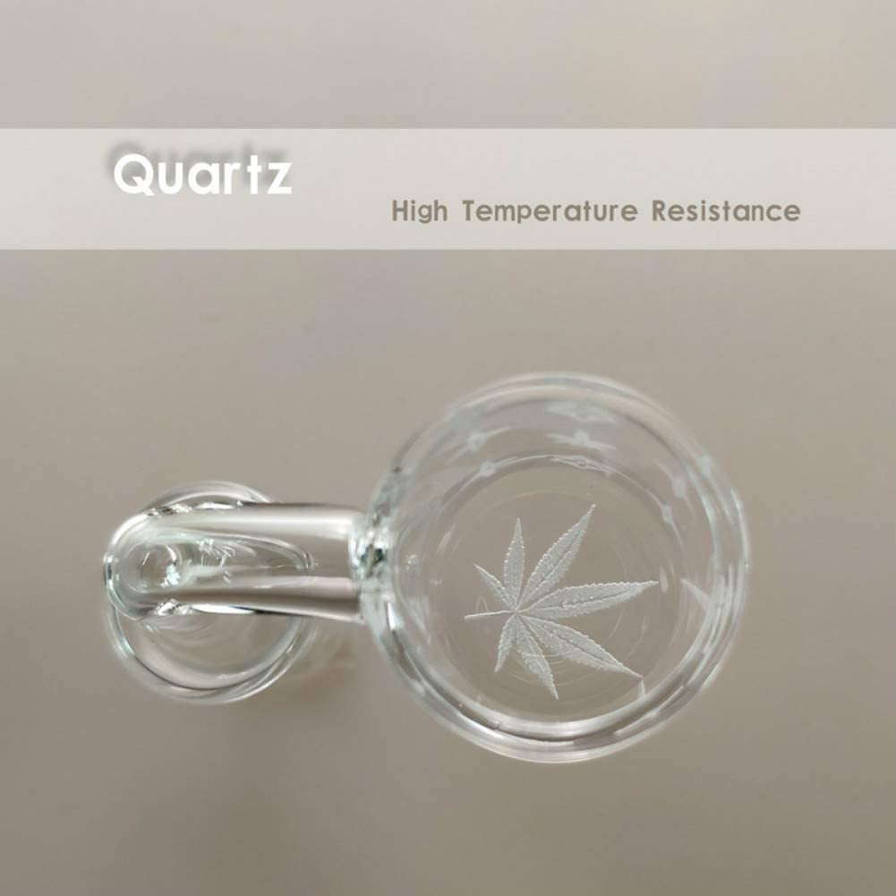 YangShop Maple Leaf Pattern Heat Resistant Glass Crafts