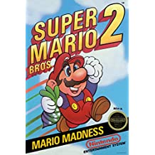Super Mario Brothers 2 Video Gaming Poster 12x18
