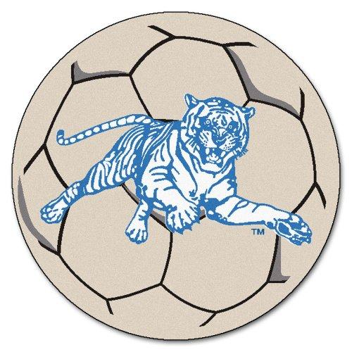 FANMATS NCAA Jackson State University Tigers Nylon Face Soccer Ball Rug