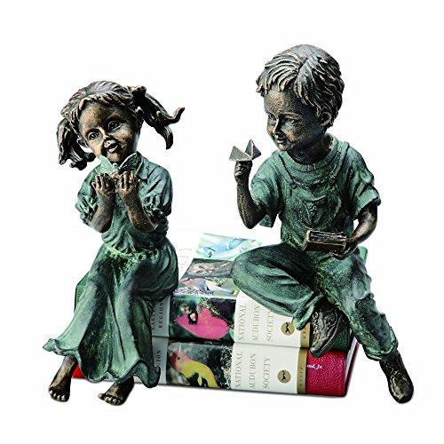 SPI Home Boy and Girl Shelf Sitters ()