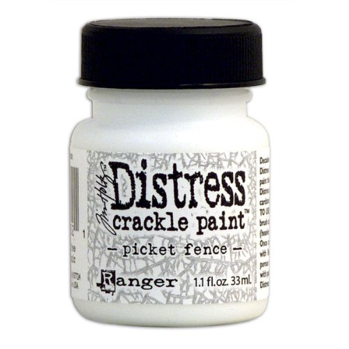Distress Crackle Paint - Picket Fence Paint Picket Fence