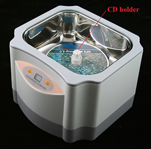 Pro LARGE 60 Watts 1.4 liter ULTRASONIC CLEANER for cleaning JEWELRY WATCH by Kendal (Image #3)
