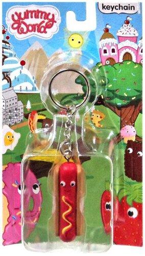 yummy world keychain hot dog - 2