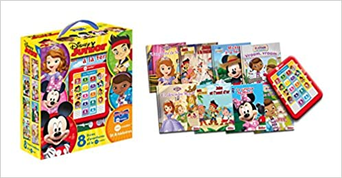 En ligne téléchargement gratuit 8 livres d'aventure et le me reader Disney Junior : L'amulette de Sofia ; Jake à la rescousse ; Mickey à la ferme ; Vroom, vroom ; Doc à du nez ; La ... ; Jake et l'oeuf d'or ; Un désordre royal pdf, epub ebook