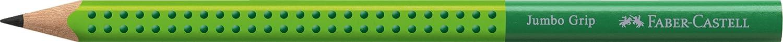 Bl/íster con 2 l/ápices de grafito Grip Jumbo B verde claro