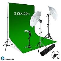 LimoStudio Photography Studio Video Photo ChromaKey Green Screen Background Support