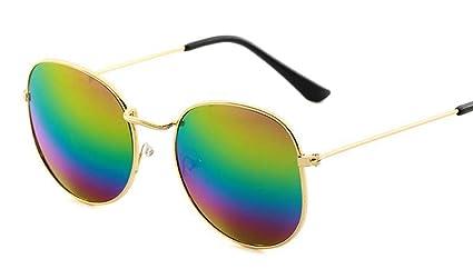 Deaman Gafas de sol modernas, redondas, para viajes, unisex ...