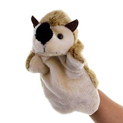Fanthee Hand Puppet,Lovely Hedgehog Animal Doll Plush Sleeve Hand Puppet Storytelling Toy Kids Gift: Sports & Outdoors