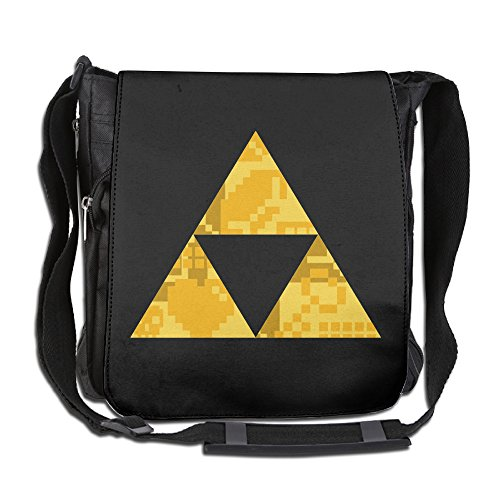 AIJFW Zelda Triforce Items Boys Casual Multifunctional Crossbody Bags Business Laptop Bag For Men's & Women's Everyday