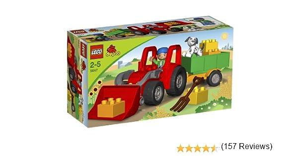 LEGO Duplo 5647 Gran Tractor: Amazon.es: Juguetes y juegos