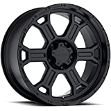 Vision Raptor 16 Matte Black Wheel / Rim 5x135 with a 0mm Offset and a 87.1 Hub Bore. Partnumber 372-6835MB0