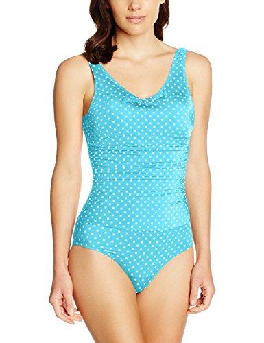 Maillot Pièce De Femme Moi 148 Spots Turquoise Control aqua Bain Hot Pour Une qIZ8H6