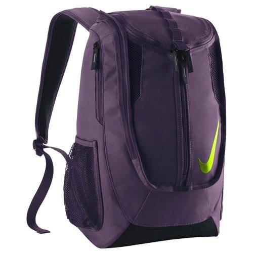 Nike Fb Shield Mochila, Hombre, Burdeos (Night Maroon / Black / Wolf Grey), Talla Única Morado (Purple Dynasty / Black / Volt)
