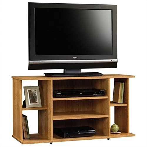 Sauder Beginnings TV Stand, Highland Oak price