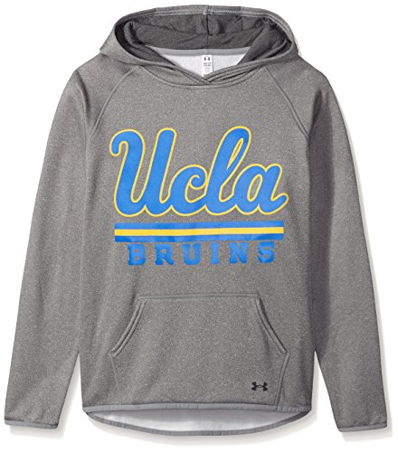 Under Armour NCAA UCLA Bruins Teen-Girls NCAA Girls' Fleece Hood, Small, Heather Gray ()