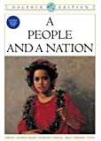 A People and a Nation: A History of the United States, Dolphin Edition - Complete