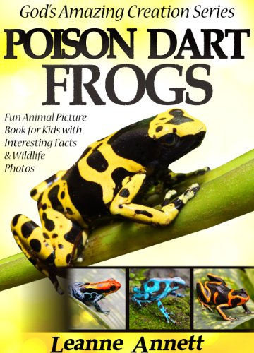 (Poison Dart Frogs! Kids Book About Frogs: Fun Animal Picture Book For Kids With Interesting Facts & Wildlife Photos (God's Amazing Creation Series)