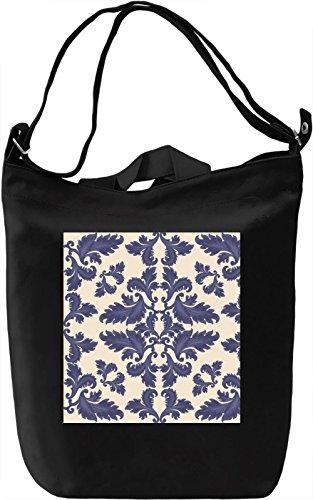 Ornament Print Borsa Giornaliera Canvas Canvas Day Bag  100% Premium Cotton Canvas  DTG Printing 