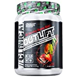Nutrex Research Oulift Bonus Size | Clinically Dosed Pre-Workout Powerhouse, Citrulline, BCAA, Creatine, Beta-Alanine, Taurine, Banned Substance Free |Fruit Punch|30 Servings
