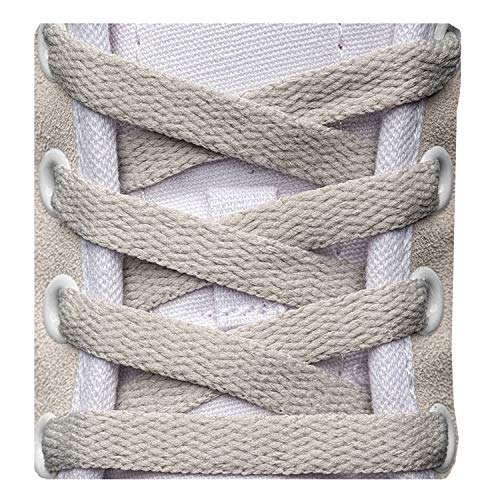 """Flat Shoelaces 5/16"""" (3 Pair) - For Sneakers and Converse Shoelaces Replacements"""
