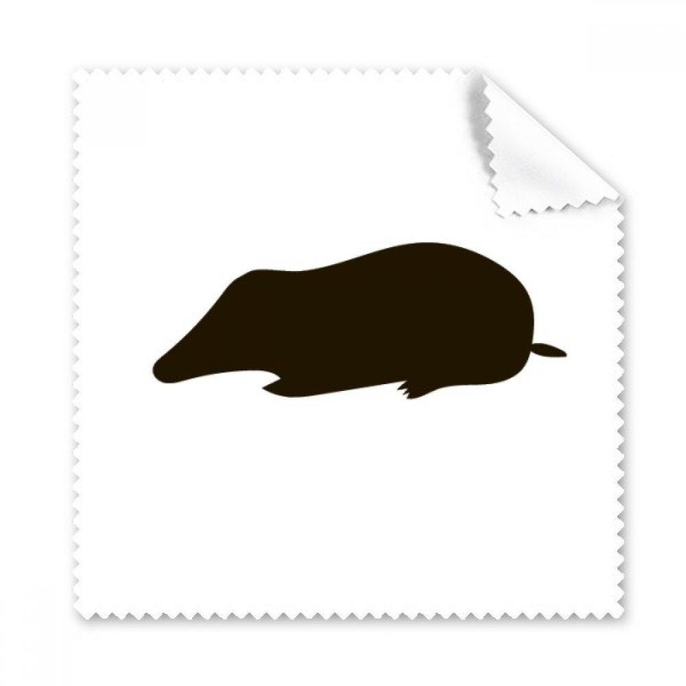 ブラックMole動物Portrayal Glasses布クリーニングクロスギフト電話画面クリーナー5点   B071XGGNTJ