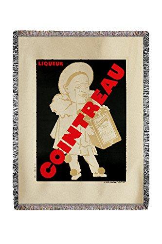 cointreau-vintage-poster-artist-marcier-france-c-1925-60x80-woven-chenille-yarn-blanket