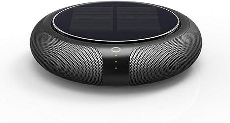 YUHUANG Desodorizador, 4W ABS Solar pequeño Filtro multifunción portátil Redondo purificador de Aire para coche5 (㎡),A: Amazon.es: Deportes y aire libre