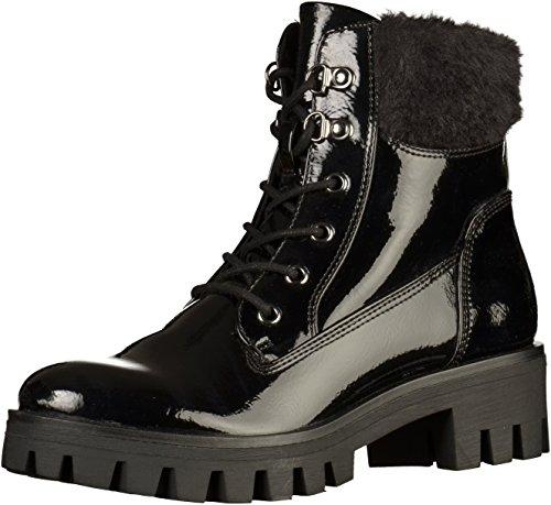 Tamaris Damen 26714 Combat Boots Schwarz