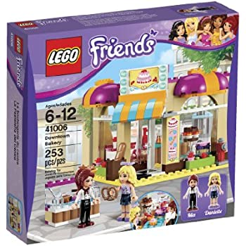 53d9bdebefc Amazon.com  LEGO Friends Downtown Bakery 41006  Toys   Games