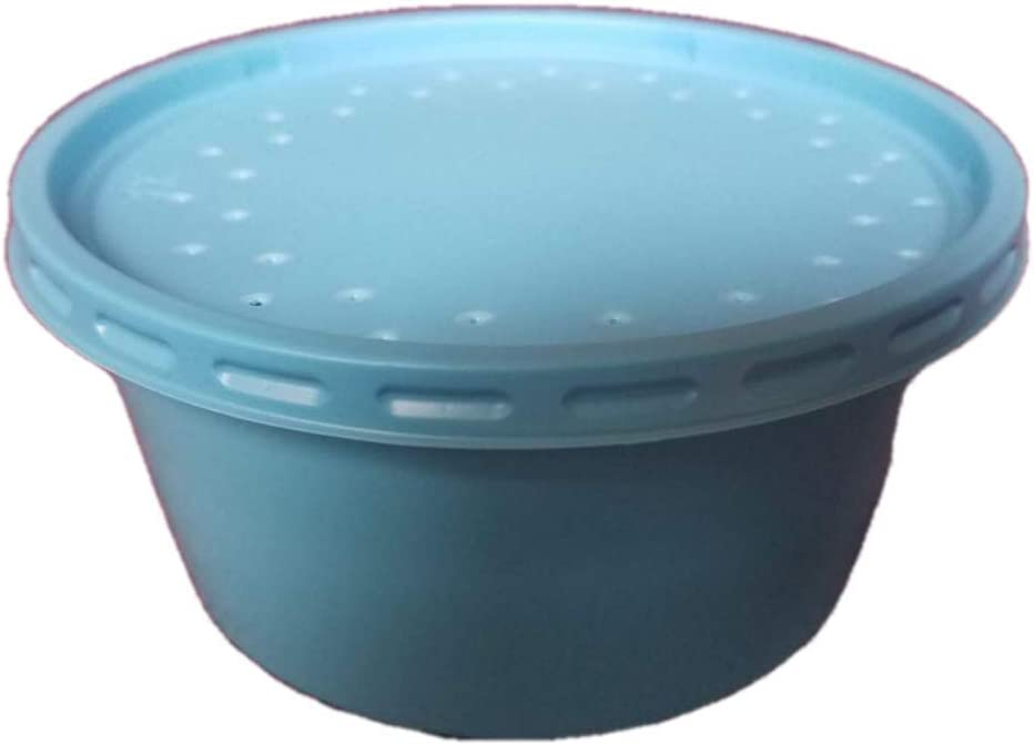 Bait Containers with Lids 20 Count 12 oz Iowa Worm Composting Bait Holders for Live Bait