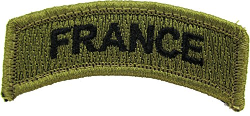 FRANCE Patch - TAB (MULTICAM (OCP)) (French Uniform Camouflage)
