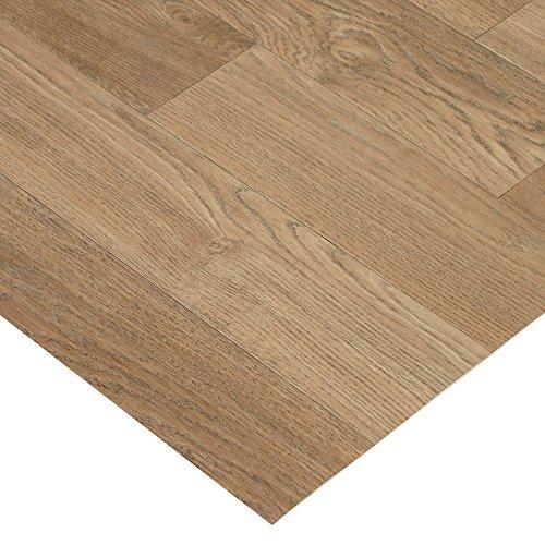 (Rubber-Cal Terra-Flex Oak Premium Rubber Flooring Rolls, Nutmeg, 2mm x 5' x 10')