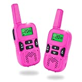 Walkie Talkies for Kids, Two Ways Radio Toy Walkie Talkie 22 Channels 3 Miles FRS/GMRS Hand Held Mini Walkie Talkie, for kids