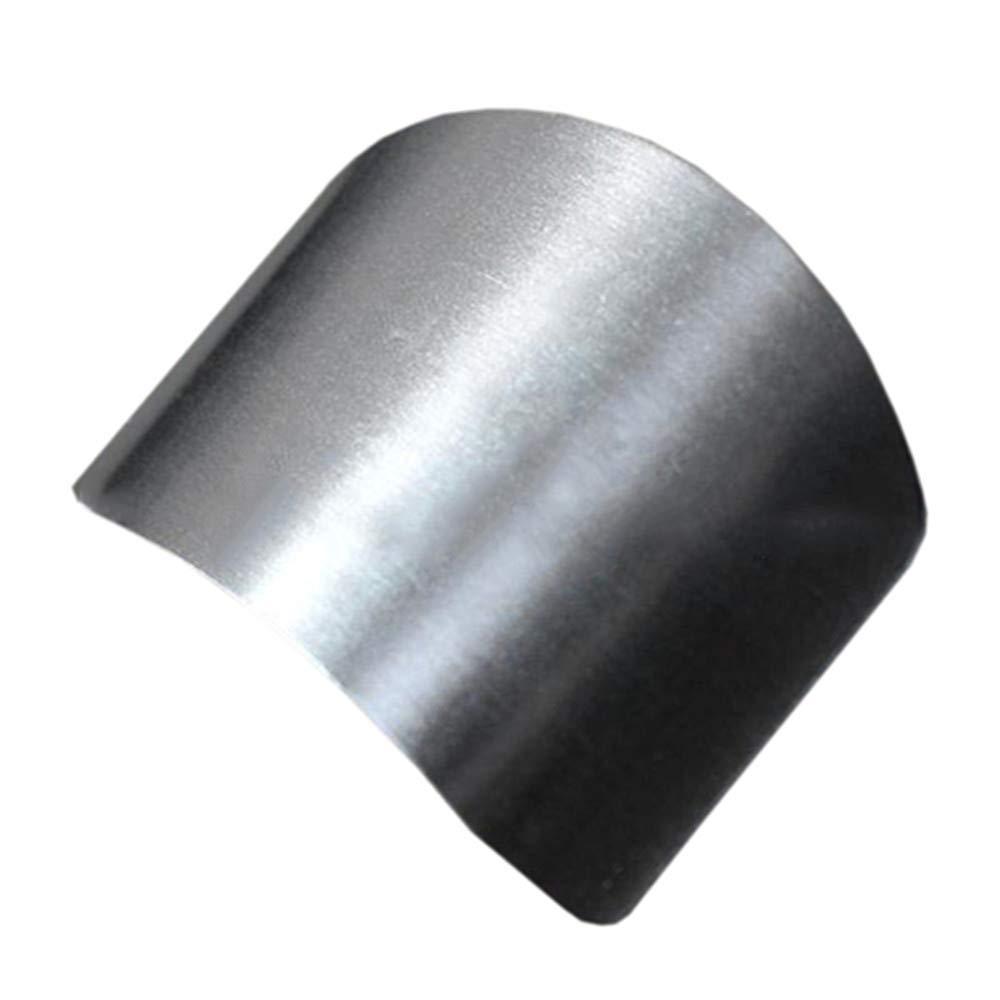 ステンレス鋼指ハンドプロテクターガードチョップセーフスライスナイフキッチンツールzsjhtc B07DD7RMQX