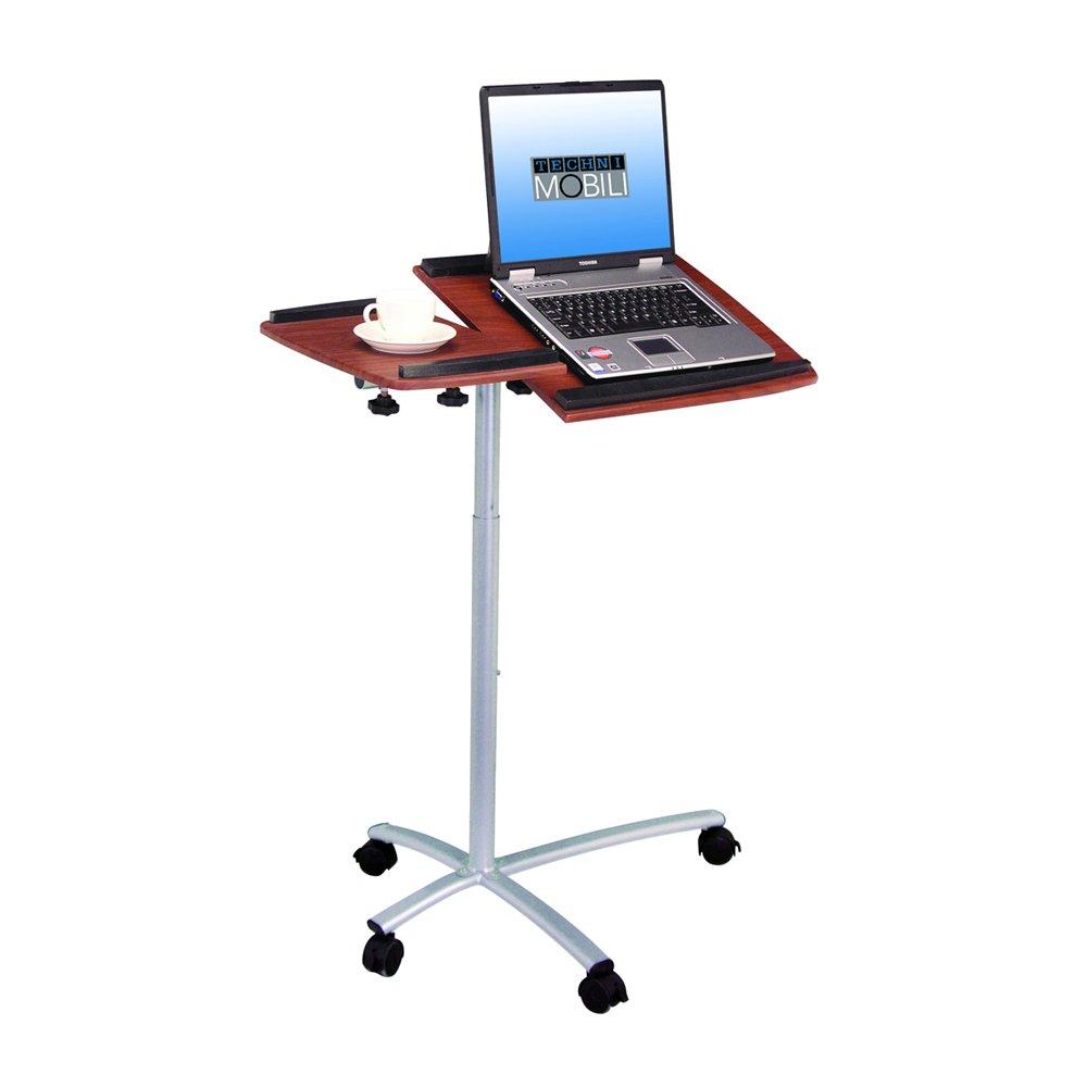 desk black rolling p desks the lavish home depot wheels laptop with