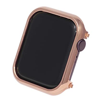 Alloy Screen Protector Compatible with Apple Watch Face Protective Case 42mm, Smart Watch Frame Bumper Shell Bezel Base Replacement for iWatch Series ...
