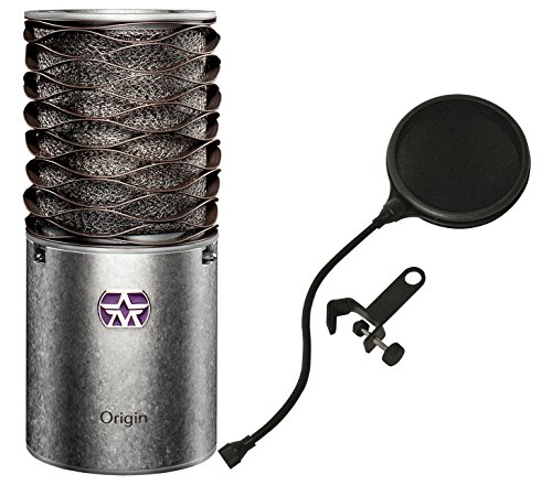 Price comparison product image ASTON ORIGIN CARDIOID CONDENSER MICROPHONE w / Pop Filter