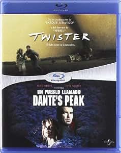 Twister + Un pueblo llamado Dante's Peak [Blu-ray]