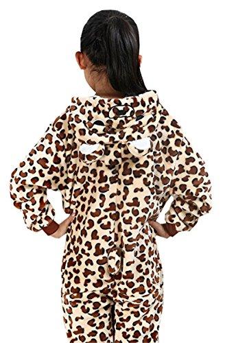 Betusline Girl Boys Unisex Pajamas Animal Onesies Cosplay Sleeping Wear -