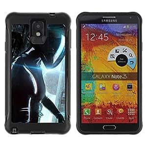 LASTONE PHONE CASE / Suave Silicona Caso Carcasa de Caucho Funda para Samsung Note 3 / Path to helicn Future