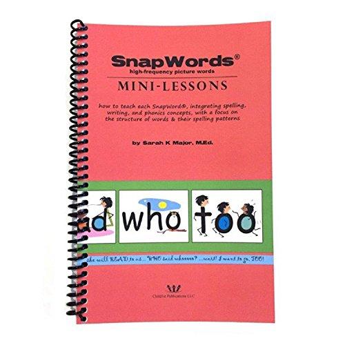 SnapWords Mini-Lessons