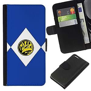 NEECELL GIFT forCITY // Billetera de cuero Caso Cubierta de protección Carcasa / Leather Wallet Case for Apple Iphone 5C // TRICERATOPS