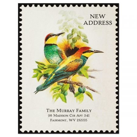 Colorful Images Somewhere New Address Postcards - Set of 24 5-1/4