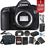 Canon EOS 5DS R Digital SLR Camera (Body Only)- Bundle with 32GB Memory Card + Spare Battery + More (International Version)