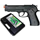 TSD Sports M9 CO2 Gas Powered Non-Blowback Airsoft Pistol with Case
