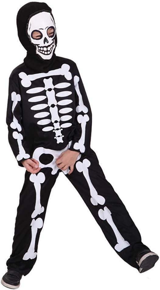 Romote Scary Skeleton Disfraz de niños de Caballería de Halloween ...