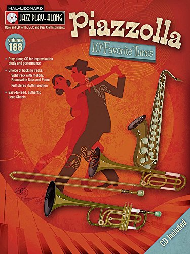 Easy Piazzolla for Eb Sax BOOK+CD