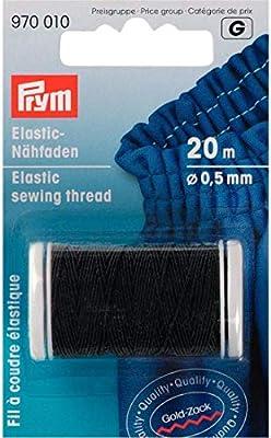 Prym Hilo Elastico 0,5mm Negro: Amazon.es: Hogar