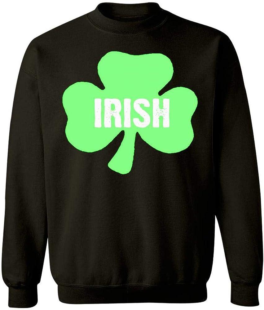 Sweatshirt Black Irish Happy St Patricks Pattys Day