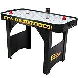 Sunnydaze 48 Inch Air Hockey Table with Scorer